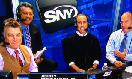 "Mets fan Jerry Seinfeld in the SNY booth at Citi Field, on ""Comedians In Cars Getting Coffee,"" Keith Hernandez's ""Seinfeld"" episode and more"