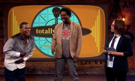 Janine Brito challenges Tracy Morgan to a Tracy-Off on Totally Biased with W. Kamau Bell