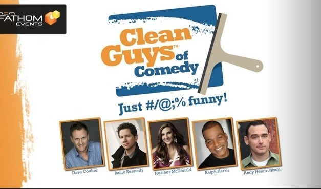 "Dave Coulier on bringing ""Clean Guys of Comedy"" to a movie theater near you"