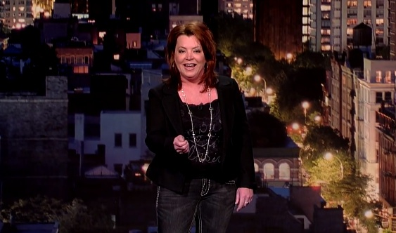Kathleen Madigan on Late Show with David Letterman