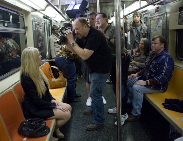"FX's ""Louie"" and the Case of TV's Fake NYC Subway, solved? Randall's Island Fire Academy Subway Simulator"