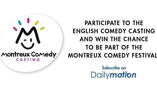 Deadline to earn a performance at the 2013 Montreux Comedy Festival via Dailymotion
