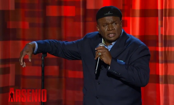 "George Wallace on The Arsenio Hall Show, and his new book, ""Laff It Off!"""