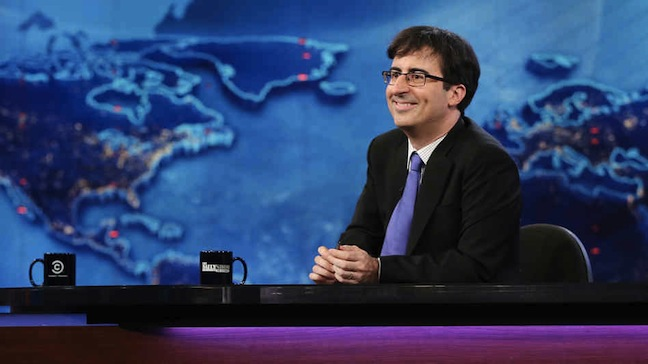 John Oliver was so good at substitute hosting The Daily Show, HBO is letting him host his own weekly show in 2014