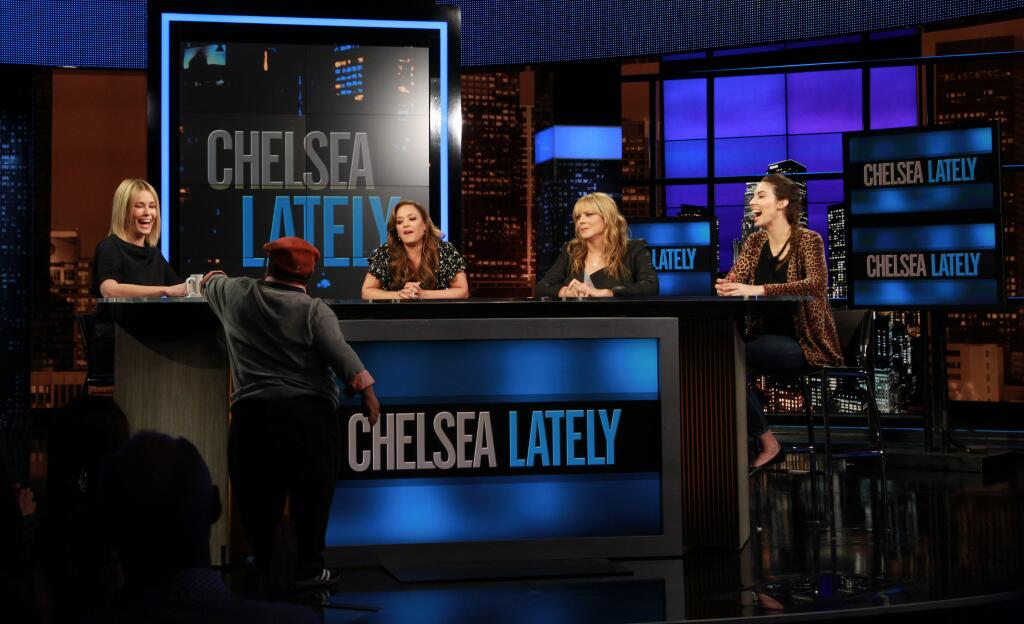 "Chelsea Handler on her late-night TV status: ""No One Puts Baby in Parentheses"""