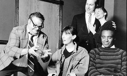 "Chris Farley's debut as Matt Foley in ""Motivation"" from The Second City, 1990"