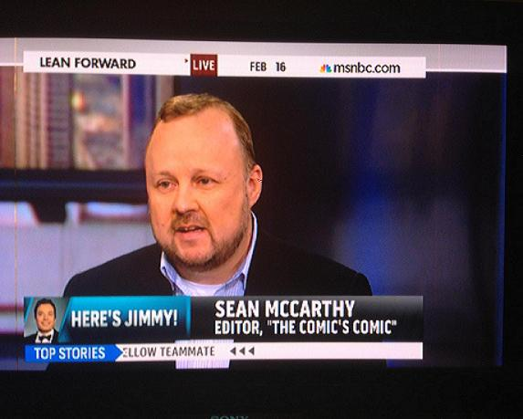 The Comic's Comic on MSNBC: Morning buzz begets ratings for late-night TV in 2014