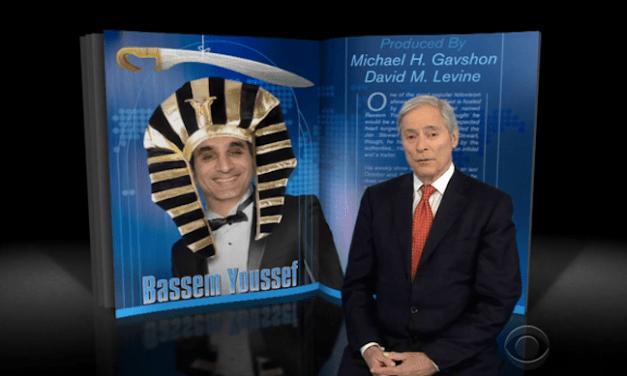 60 Minutes profiles Bassem Youssef, Egypt's political satirist