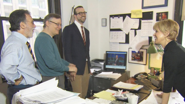 Late Show with David Letterman writers profiled by CBS Sunday Morning