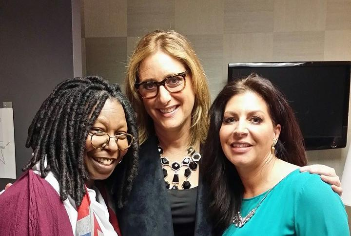 """The View's """"A Day of Comedy"""" 2014 with guest co-host Judy Gold and George Wallace, Tammy Pescatelli, Carlos Oscar, Karen Bergreen"""