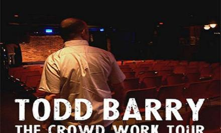 "Todd Barry ""The Crowd Work Tour,"" a film special from Louis C.K., an interview via emails"