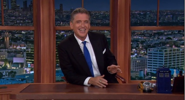 Craig Ferguson announces he's leaving The Late Late Show on CBS at the end of 2014