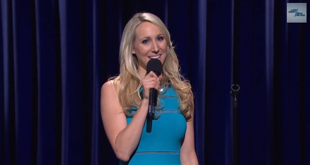 Nikki Glaser on Late Night with Seth Meyers