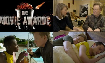 Conan O'Brien's 50 celebrity cameos to open the 2014 MTV Movie Awards