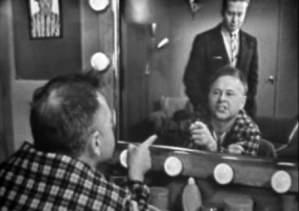 "Mickey Rooney in ""The Comedian"" from TV's Playhouse 90, live from 1957"