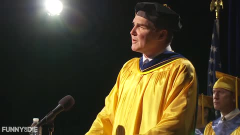 "Norm Macdonald reveals keys to success in this 2014 ""commencement"" address"