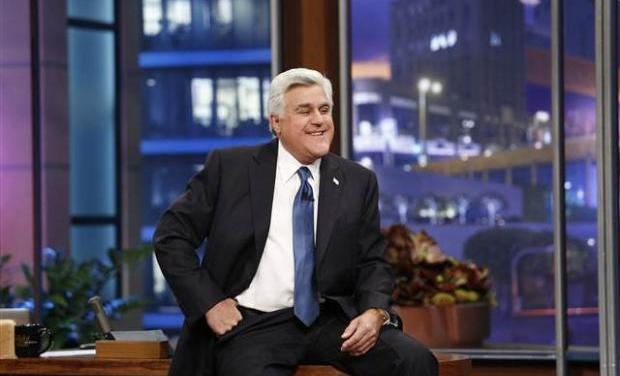Jay Leno to receive Mark Twain Prize for American Humor in 2014