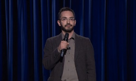 Myq Kaplan on Late Night with Seth Meyers