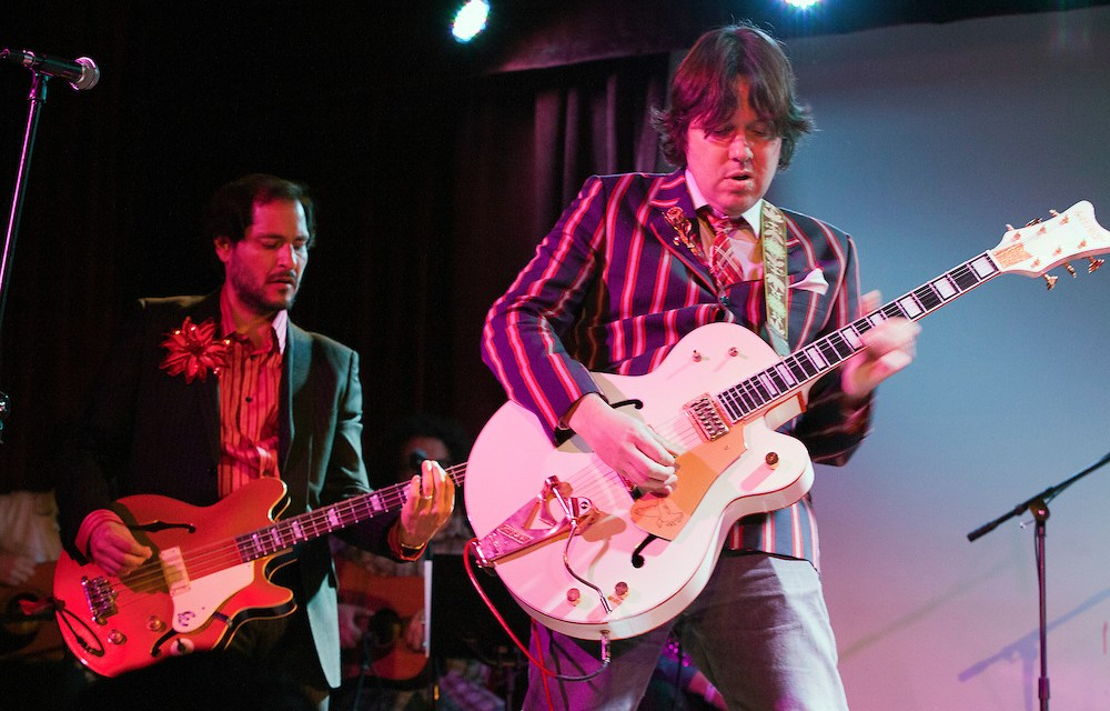 All the cool kids are petitioning Stephen Colbert to hire Dave Hill as his Late Show bandleader