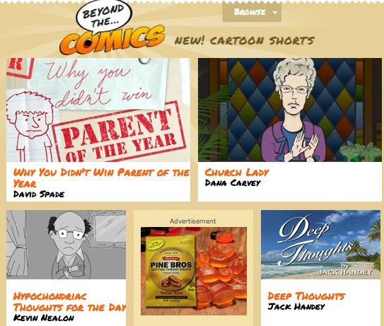 Dana Carvey promotes new Beyond The Comics animated bits on The Tonight Show Starring Jimmy Fallon