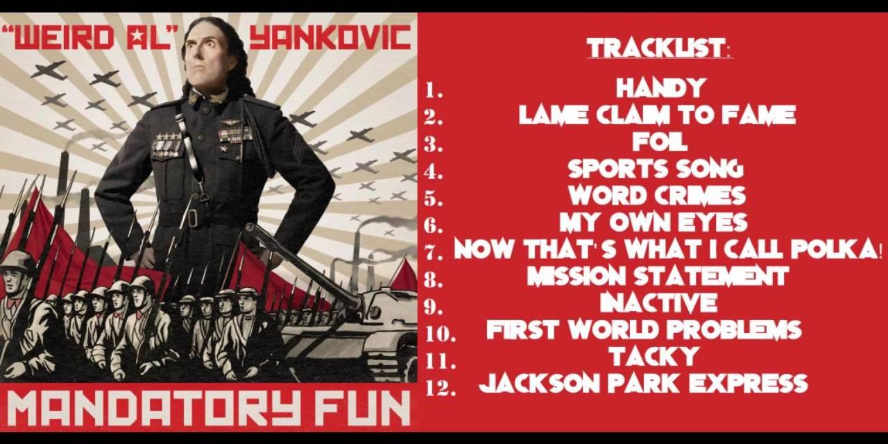 """Weird Al"" Yankovic's Mandatory Fun: #8Videos8Days"