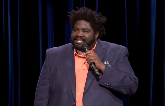 Ron Funches on The Tonight Show Starring Jimmy Fallon