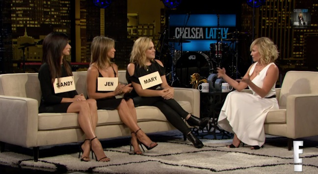 "The finale of Chelsea Handler's ""Chelsea Lately"" on E!"