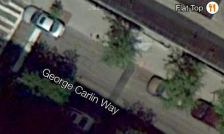 "Mark Your Calendars: ""George Carlin Way"" street sign unveiling, party set for Oct. 22, 2014"