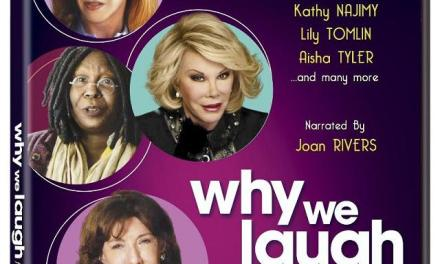 """Why We Laugh: Funny Women,"" narrated and executive produced by Joan Rivers"