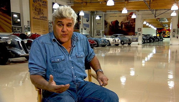 Jay Leno: Gone from NBC late-night, but not forgotten by NBCUniversal. Jay Leno's Garage online, and soon on CNBC?