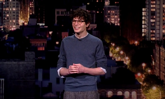 Simon Amstell on Late Show with David Letterman