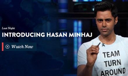 Hasan Minhaj's debut on The Daily Show with Jon Stewart