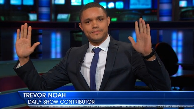 Watch Trevor Noah's debut as a correspondent on The Daily Show with Jon Stewart