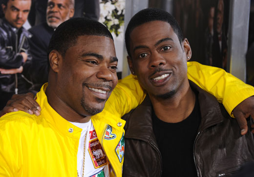 Chris Rock tells Howard Stern about visiting Tracy Morgan at home