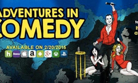 "Preview the movie trailer for mockumentary ""Adventures in Comedy"""