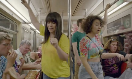 Comedy and the New York City subway