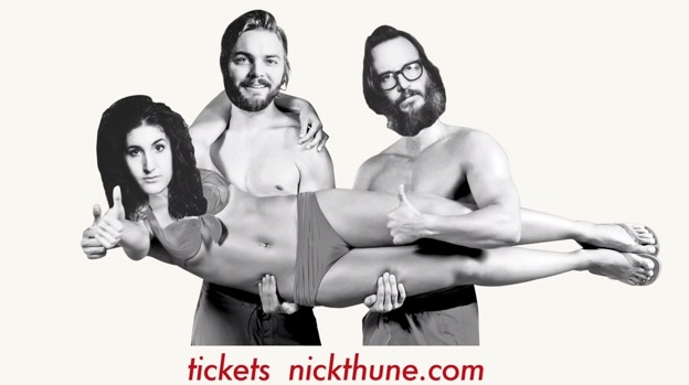 Preview this stand-up tour video with Nick Thune, Kate Berlant and Ben Kronberg