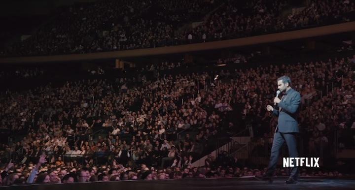 Aziz Ansari Live At Madison Square Garden On Netflix The Comic 39 S Comic
