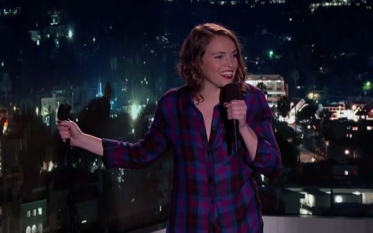 Beth Stelling on Jimmy Kimmel Live