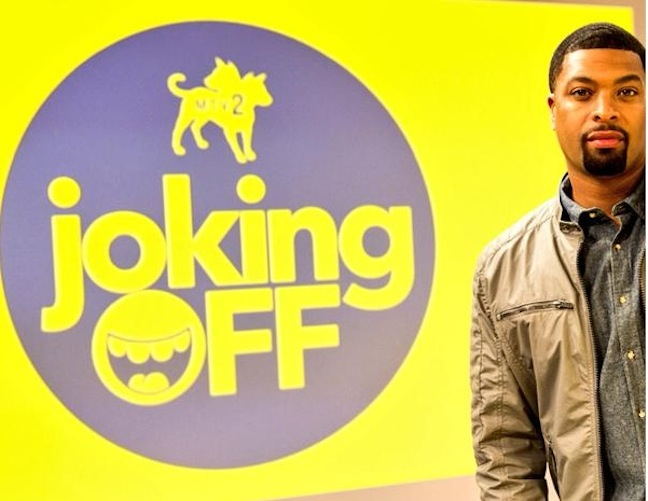 "MTV2 launches ""Joking Off"" with DeRay Davis on April 1, 2015, with a crew of comedy improvisers"