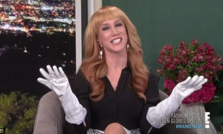 "Kathy Griffin quits E!'s ""Fashion Police"" after seven episodes as host"