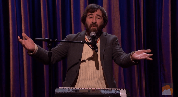 David O'Doherty on Conan