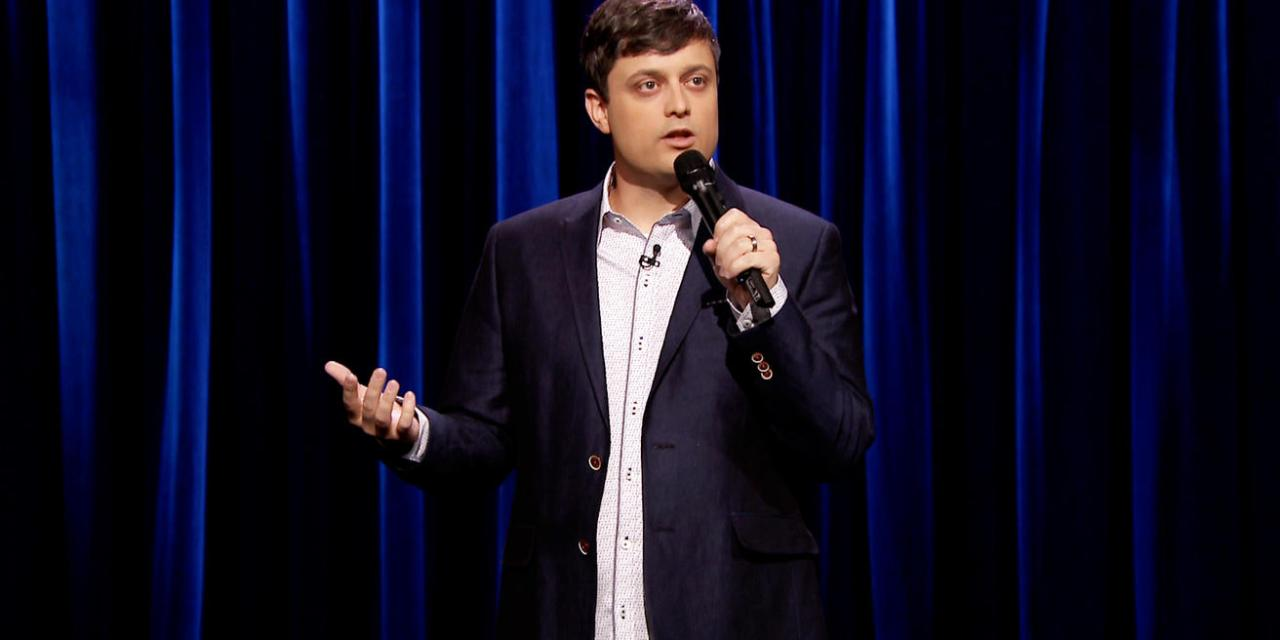 Nate Bargatze on The Tonight Show Starring Jimmy Fallon