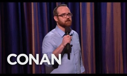 Andy Sandford on Conan