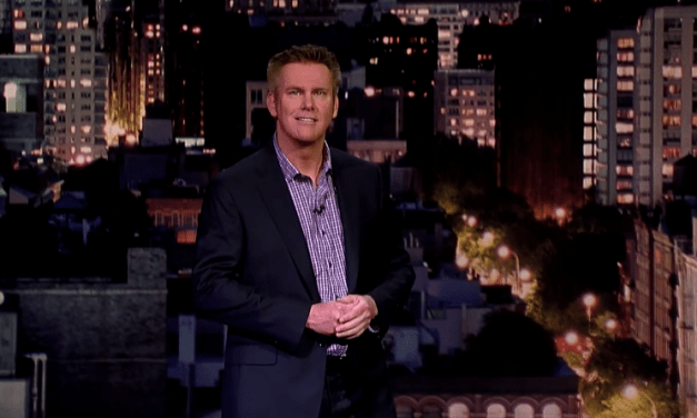 Brian Regan will headline Comedy Central's first-ever live stand-up special, announced during his final Letterman appearance