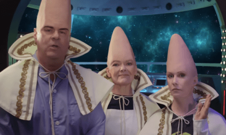 One final State Farm nod to #SNL40: The Coneheads reunion