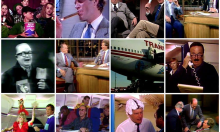 David Letterman's TV finale montage, frame by frame