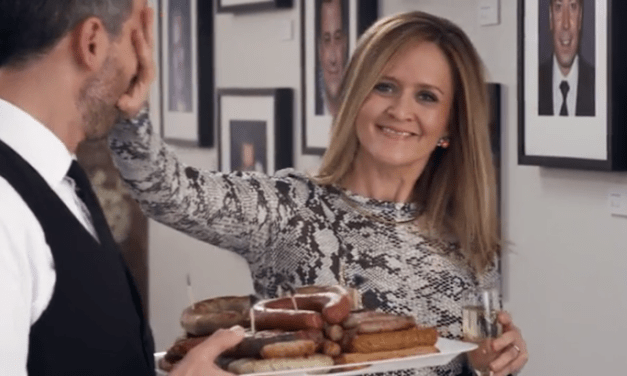 Samantha Bee breaks up late-night TV sausage party in first TBS promo teaser