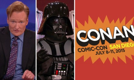 "Conan O'Brien and Team Coco filming ""Conan"" at Comic-Con 2015 from Wednesday-Saturday"