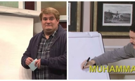 This SNL sketch has 22 seconds in common with This Hour Has 22 Minutes sketch #DrawMuhammad